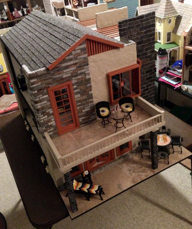Dollhouse Miniature Staircase