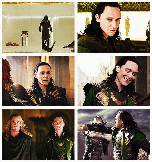 Loki from Thor 2 (gifset) Is it just me, or has he gotten even hotter?