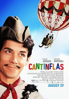 Cartel de la película Cantinflas. Estreno en cines abril 2016