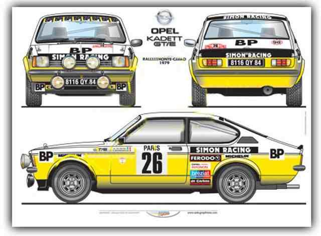 Opel Kadett Rally