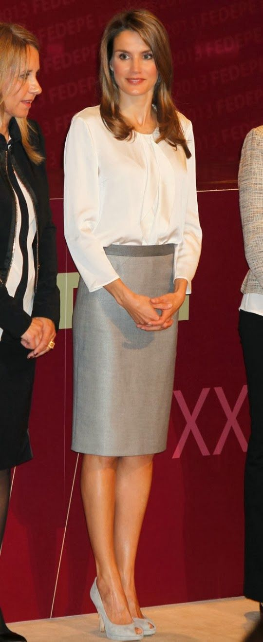 Princess Letizia  attends the XXII edition of FEDEPE Awards at the CSIC  in Madrid.