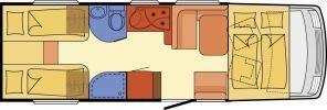 Wohnmobil Dethleffs Esprit I 7150 EB - ID: HC1929936 #Dethleffs #Esprit #I 7150 EB #Wohnmobil - Caravans - Wohnwagen & Reisemobile