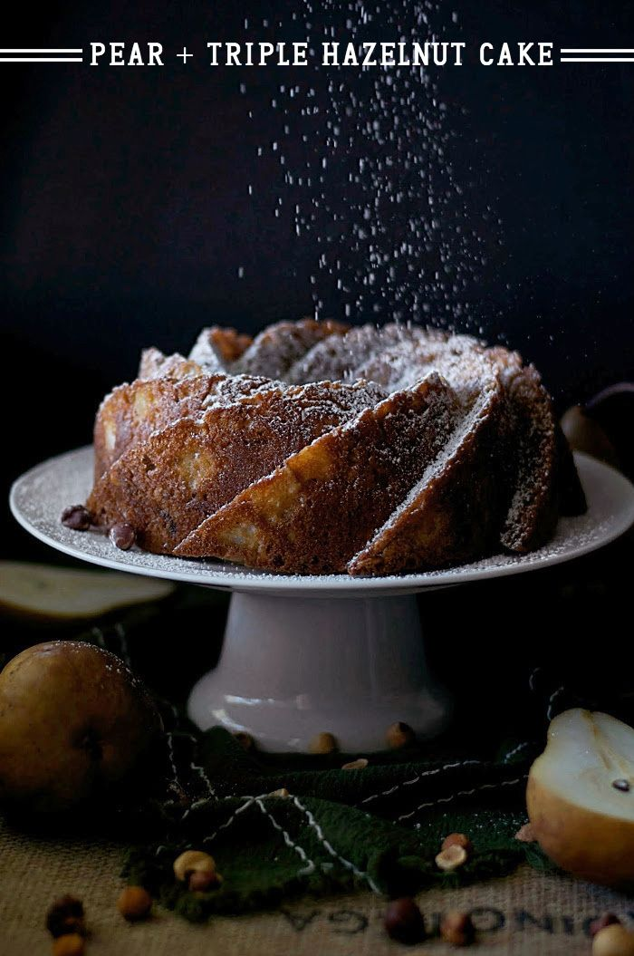 Pear and Triple Hazelnut Cake | Recipe | Hazelnut Cake, Pears and ...