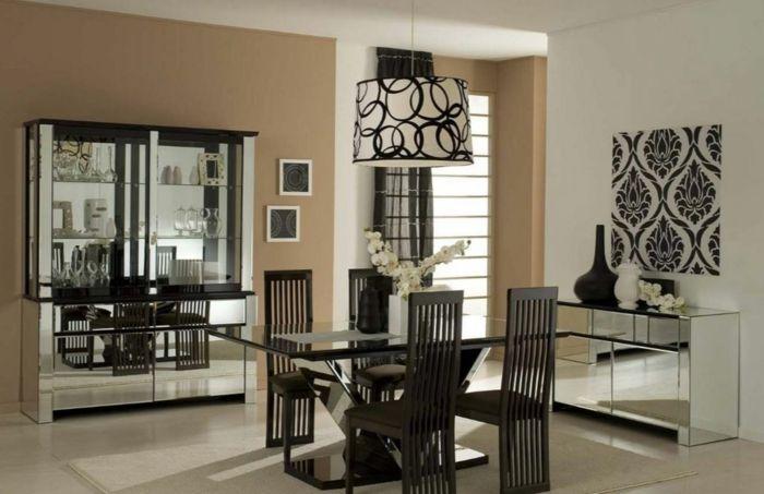 farbgestaltung wohnzimmer wandgestaltung wanddesign caramel braun, Modern Dekoo