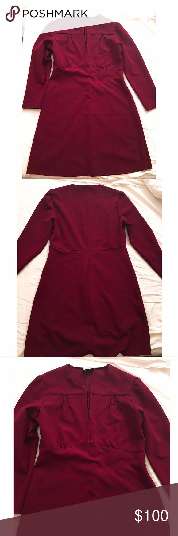 Bimba and Lola dark red dress size 10 Bimba and Lola dark red dress size 10 – Sp…