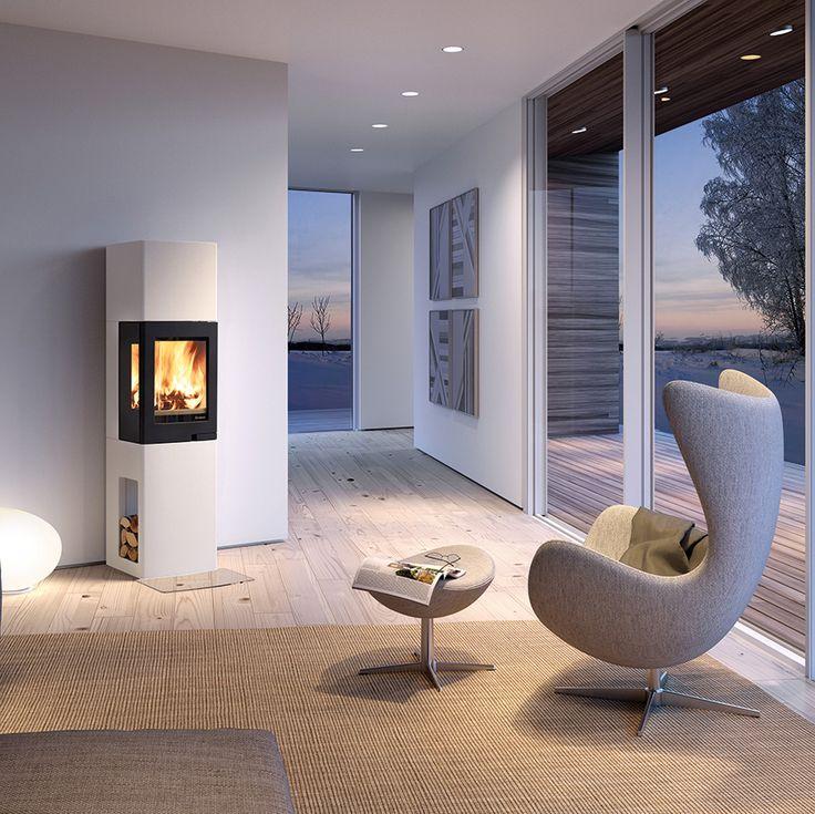 Small fireplace ~ http://nordpeis.fi/Inspiraatio