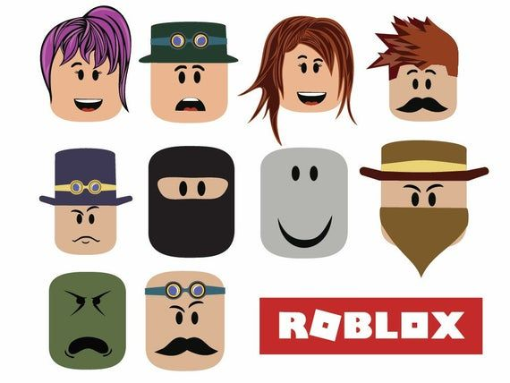 22 Roblox Svg Vector Clipart Roblox Printable Files In Svg Png Eps And Ai Download Roblox Vector Clipart Cricut Christmas Ideas