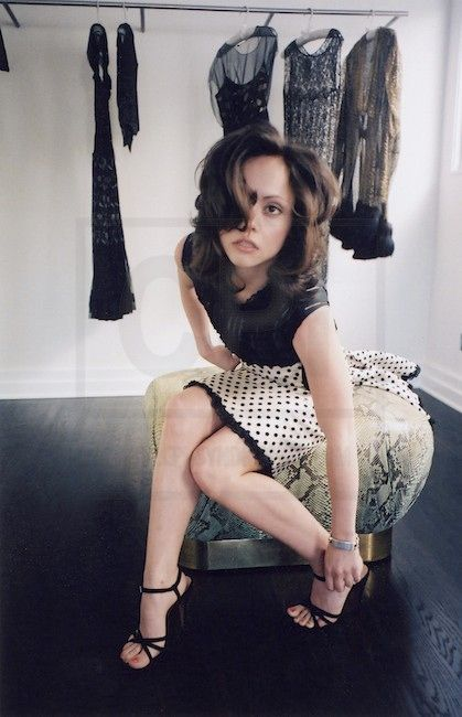 Christina Ricci: photo shoot for France vogue