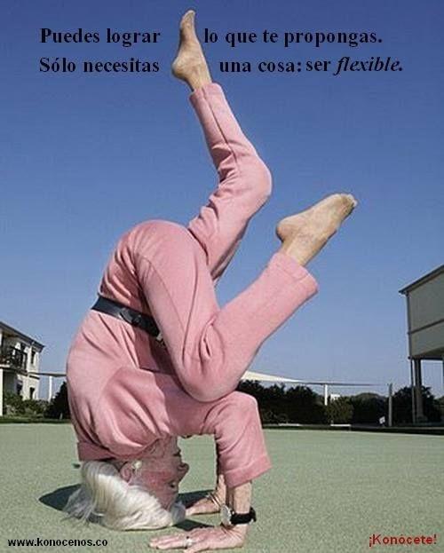 Puedes lograr lo que te propongas. Solo necesitas una cosa: Ser flexible - ¡Konócete!