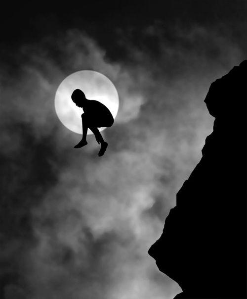 """madaeli26:  Adrenaline by Hengki Lee  "": White Photography, Black And White, Silhouette, Art, Black White, Hengki Lee, The Moon"