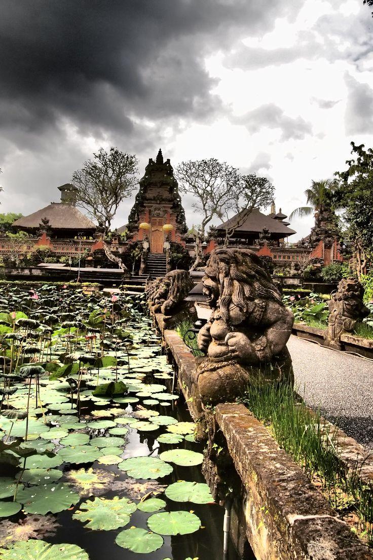 www.villabuddha.com  Bali  Huur ons huis aan het strand inclusief personeel € 1495,- per week  Lotus Temple, Ubud Indonesia