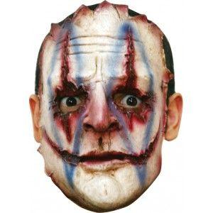 Cet masque de clown tueur sera parfait pour compléter votre déguisement le soir…