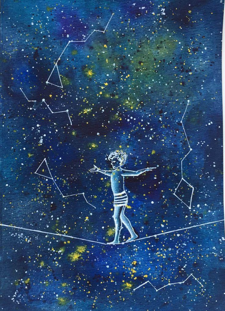Galaxy by Artnocte on Etsy https://www.etsy.com/listing/474275392/galaxy