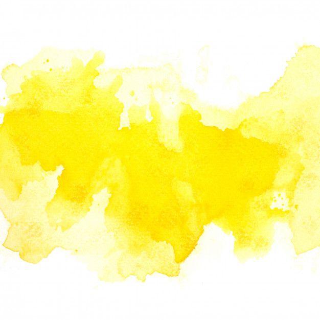 Acuarela Amarilla Acuarela Fotos Fondos Acuarela