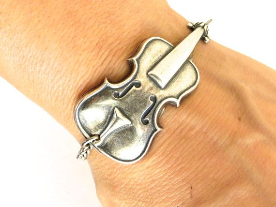 Hey, I found this really awesome Etsy listing at https://www.etsy.com/listing/171180494/new-steampunk-cello-bracelet-sterling