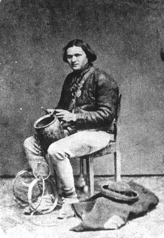 Ignacy (Izaak) Krieger (ur. 1817 lub 1820 we wsi Mikołaj, pow. wadowicki, zm. 17 czerwca 1889 w Krakowie): Itinerant tinker, 19th century