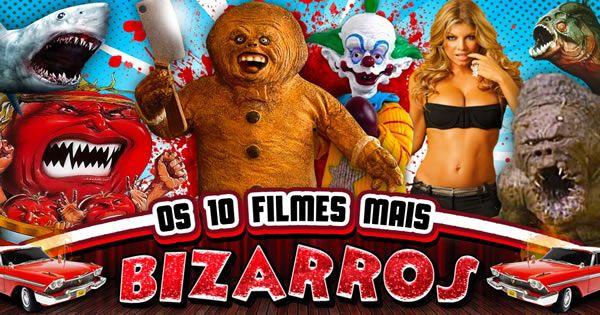 Os 10 filmes mais BIZARROS do cinema