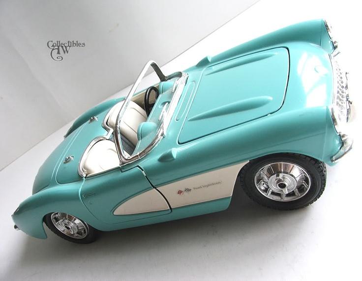 Burago Chevrolet Corvette 1957 Model Car Light Blue Cars Pinterest Blue Corvettes And Models