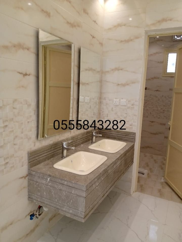 صور مغاسل حمامات رخام الرياض House Design Bathroom Mirror Framed Bathroom Mirror
