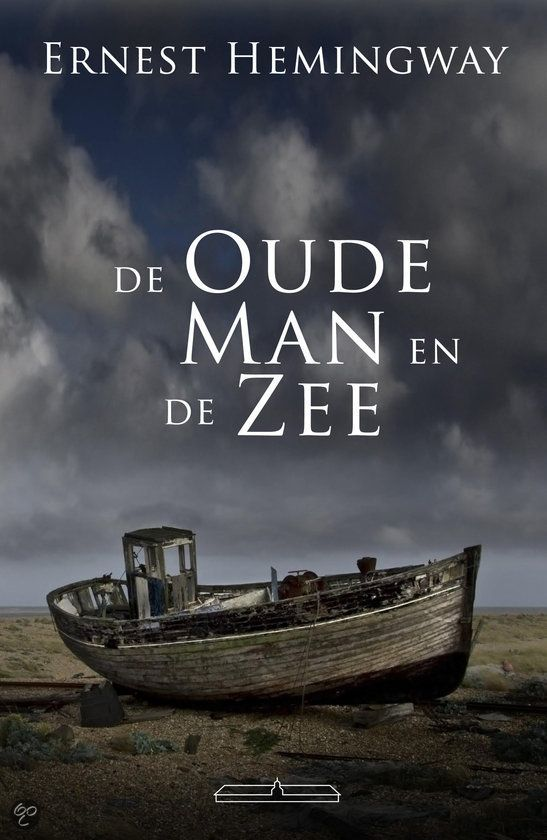 35/53 De oude man en de zee - prachtig verhaal over de strijd tussen mens en natuur