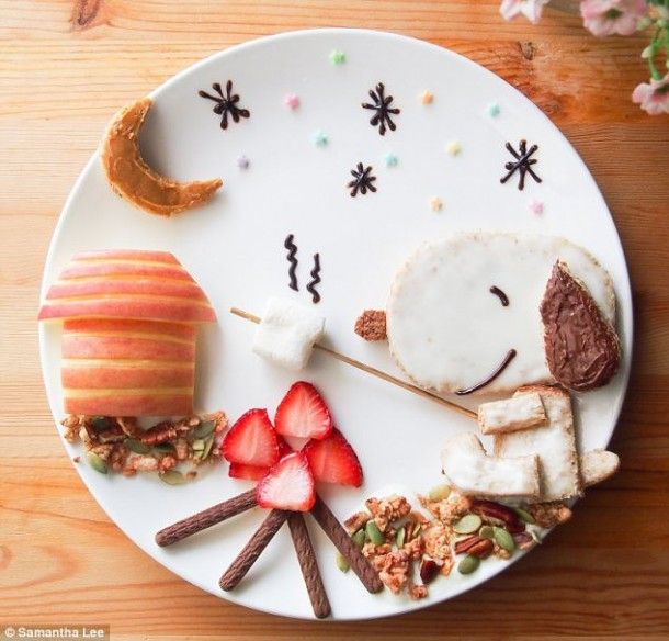 Samantha Lee and her amazing food art