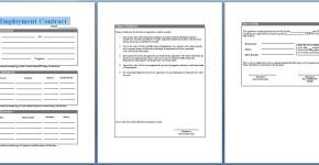 Download Free Employment Contract Template