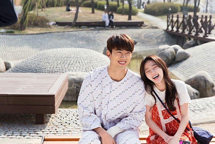 Taecyeon (Do Jin Woo) & Song Ha Yoon(Jin Hee Young) #korea #cute #couple #minidrama