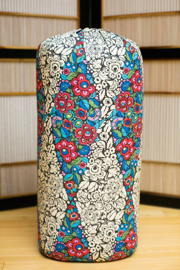 Trapeze Charcoal Oval Bolster by Inner Space Yoga & Meditation Supplies