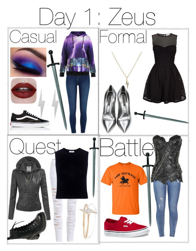 """""""Percy Jackson Outfit Challenge 