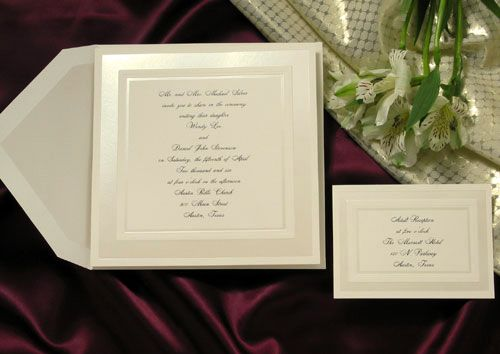 Wedding Invitations by YourInvitationPlace.com / WHOLESALE