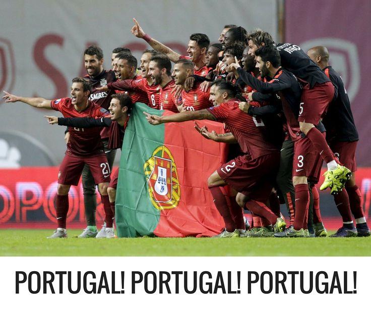 Vamos contar os minutos, vamos correr, vamos tremer, vamos vibrar, vamos sofrer, vamos apoiar a nossa Seleção Portuguesa! Boa sorte para os nossos jogadores. #lusomotos #futebol #euro2016 #Portugal #França