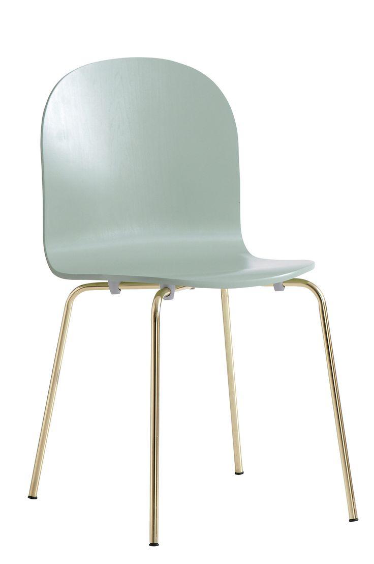Ellos Home Stol Lucky Stol av böjträ och metall. Höjd 82 cm. Djup 47 cm. Bredd 44 cm. Sitthöjd 44 cm. Sittdjup 37 cm. Lev. omonterad. <br><br>