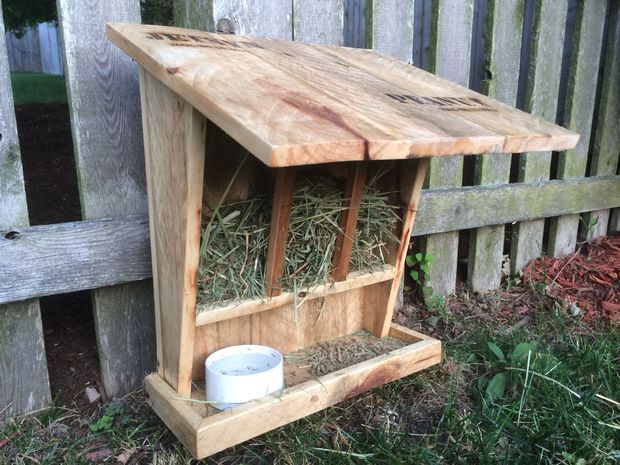 Outdoor Bunny Hutch Awesome