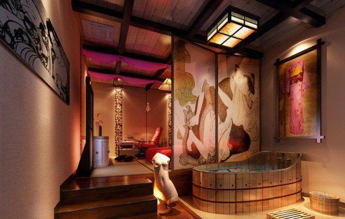 deco salle de bain orientale - ici vous pouvez voir un exemple du jeu avec la lumière