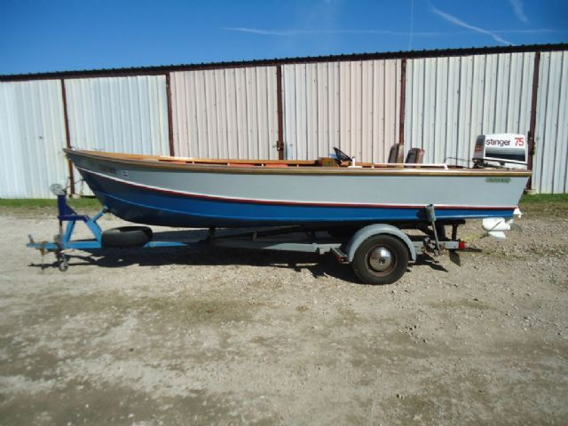17 feet 1987 stauter built custom freshwater fishing for Fishing boats for sale in texas