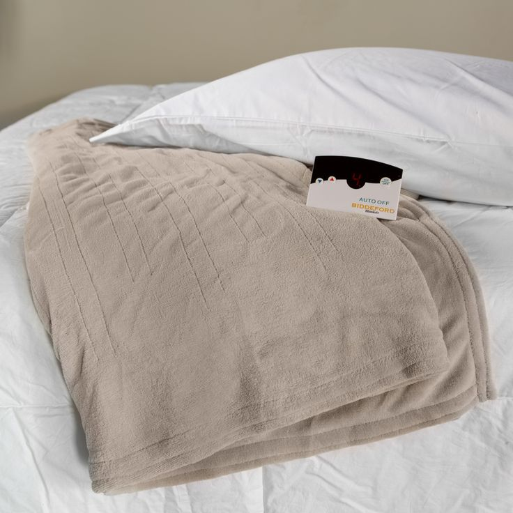 Have to have it. Biddeford Blankets Microplush Electric Warming Blanket with Digital Controls - $49.99 @hayneedle