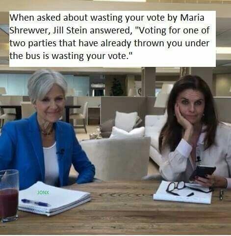 Jill Stein is awesome! jill2016.com