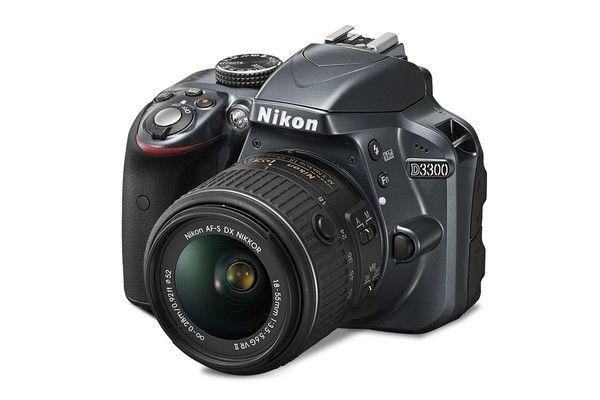 Nikon D3300 DSLR AF-S DX NIKKOR 18-55mm f/3.5-5.6G VR II Lens Kit (Black)