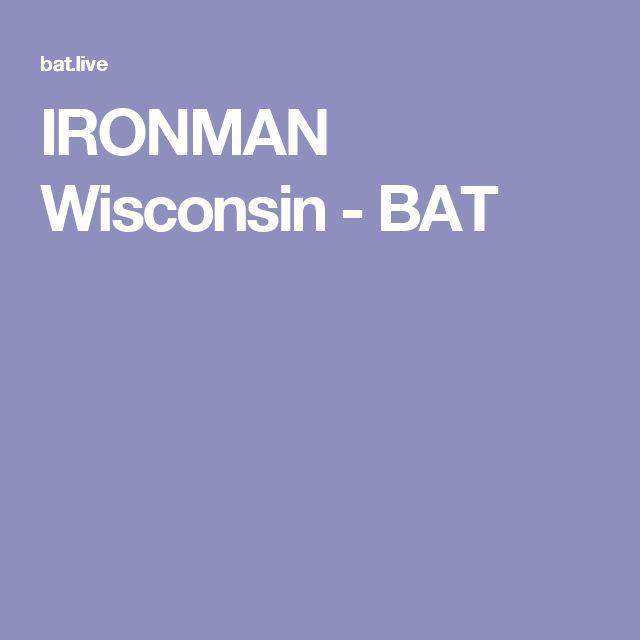 IRONMAN Wisconsin - BAT