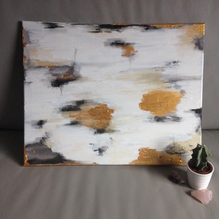 A2 Original Abstract Painting - Industrial Minimalist Aesthetic by TreehomeArts on Etsy https://www.etsy.com/uk/listing/475874161/a2-original-abstract-painting-industrial