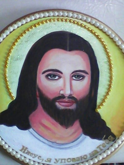 ***Иисус*** моя живопись,Мамалыга Л.П./Украина