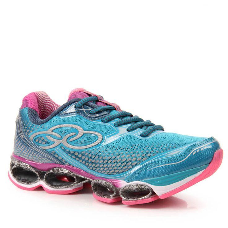 Tênis Running Feminino Olympikus Starlight 047W - Verde - Passarela.com