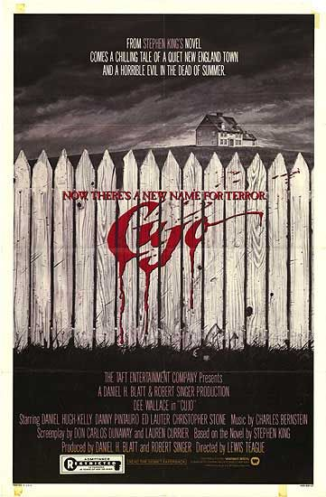 Cujo by Stephen King...my very first Stephen King read:)
