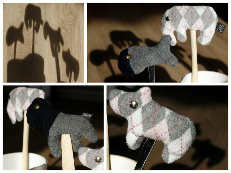 Ujjbáb zokniból - Masni, Finger puppets made from socks DIY