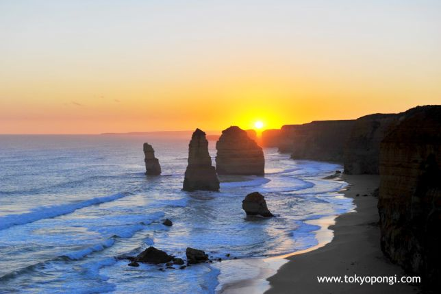 #sunset #GreatOceanRoad #Australia