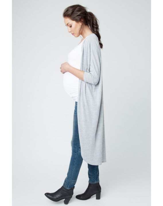 Textured Knit Cardigan - Blossom & Glow Maternity.  We are in love with the Textured Knit Cardigan this season at B&G!  Whether you're pregnant, breastfeeding, or post babies, this cardi is for everyone!  You will love the, Relaxed fit, Longline cut, Easy draped shape – its excellent for layering in any weather!