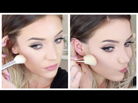 Contouring and Highlighting for PALE SKIN! Updated! - YouTube