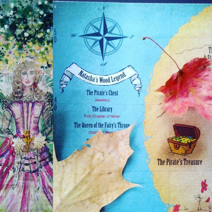 Queen Fairy map of Natasha's Wood  upcoming novels see more at www.natashaswoodfoundation.com SHOP