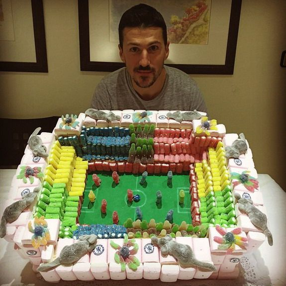 Caption This: Chelsea physio given Stamford Bridge-esque birthday cake