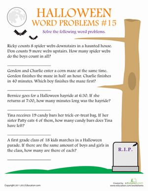1000+ images about halloween math on Pinterest | Free printable ...